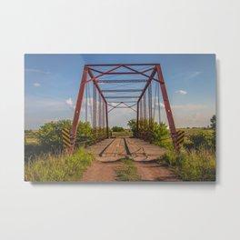 Stephens Bridge, North Dakota, 12 Metal Print
