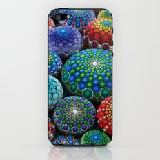 Jewel Drop Mandala Stone Collection #1 iPhone & iPod Skin