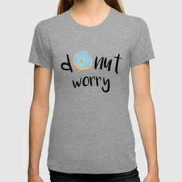 Donut Worry Blue T-shirt