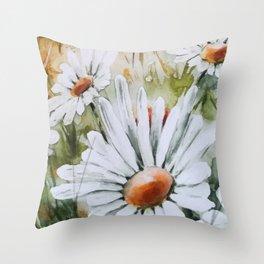 Countryside Summer Throw Pillow
