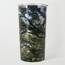 Intersecting Trees Travel Mug