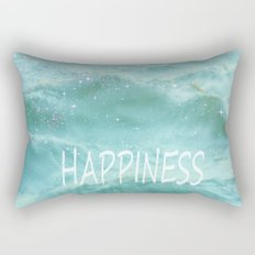 HAPPINESS. Vintage beach Rectangular Pillow