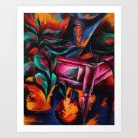 Expressionistic Still Life Art Print
