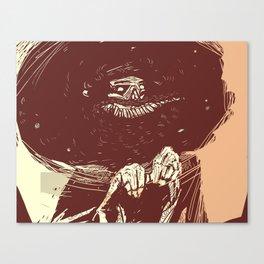 joker grin Canvas Print