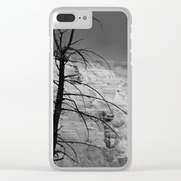 Mystical View Over Minerva Spring Clear iPhone Case