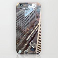 Chicago El Train Tracks Original Color Photo Slim Case iPhone 6s