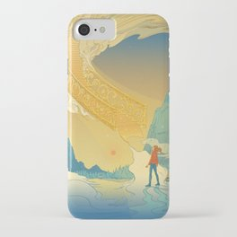 Golden Staircase iPhone Case