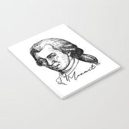 Wolfgang Amadeus Mozart sketch Notebook