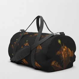Deep Sea Anglerfish Watercolor Duffle Bag