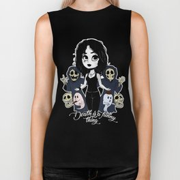 Death is a funny thing Biker Tank