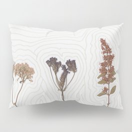 traced flowers Pillow Sham