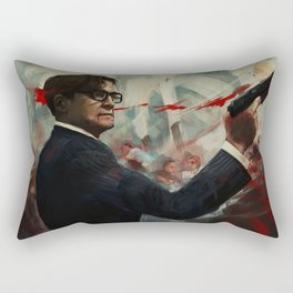 Forgive me Father for I have Sinned  / Kingsman Rectangular Pillow