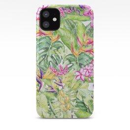 Tropical Garden 1A #society6 iPhone Case