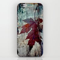 poem iPhone & iPod Skins featuring Autumn Poem by A.K.H.