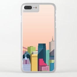 City San Francisco Clear iPhone Case