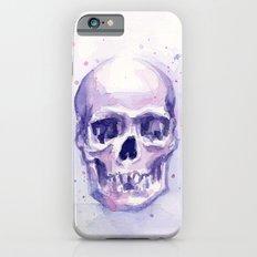 Skull Watercolor Skulls Slim Case iPhone 6s