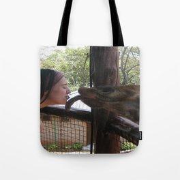 Giraffe Kisses! Tote Bag
