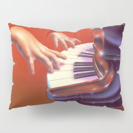 Piano Lessons Can Be Murder Pillow Sham