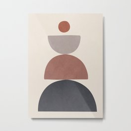 Balancing Elements III Metal Print