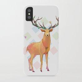 Deer and Diamonds iPhone Case