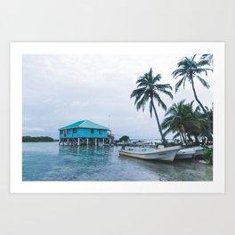 Island Retreat Art Print