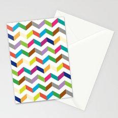 Funny stripe Stationery Cards
