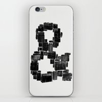 ampersand iPhone & iPod Skins featuring Ampersand by Jorge Garza