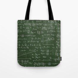 Geek math or economic pattern Tote Bag