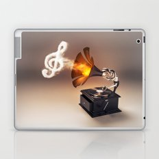 let the music play (just keep the groove) Laptop & iPad Skin
