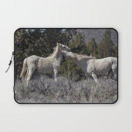 Wild Horses with Playful Spirits No 7 Laptop Sleeve