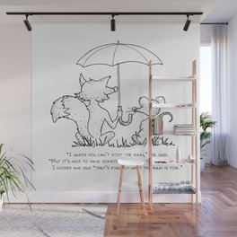 What the rain is for Wall Mural