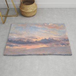 "John Constable ""A Cloud Study"" 1. Rug"