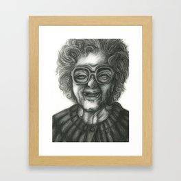 Grandmother Time Framed Art Print