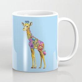 Geraldine the Geniunely Nice Giraffe Blue Coffee Mug