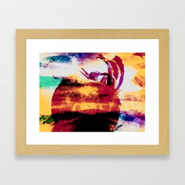 Boiling Framed Art Print