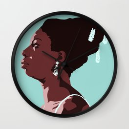 Nina Simone Wall Clock