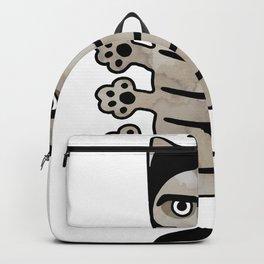 Cat insect Kafka. Metamorphosis. Backpack