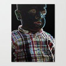 Acid Baby Canvas Print