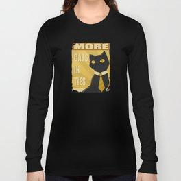 Cats in Ties - PSA Long Sleeve T-shirt
