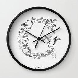 G is for Glókollur Wall Clock