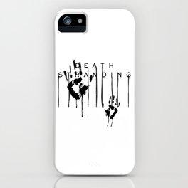 Death Stranding Hideo Kojima videogame lou sam porter iPhone Case