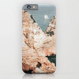 Rocky coastline of Ponta da Piedade, Portugal iPhone Case