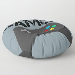 Game Console Black Joystick Floor Pillow