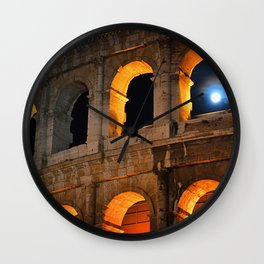 Coliseum Wall Clock