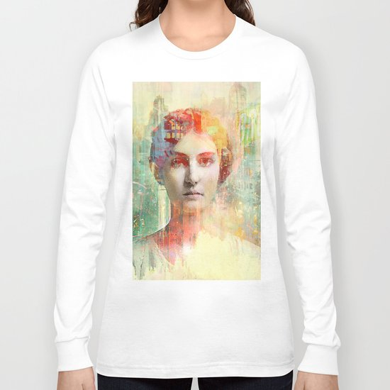 A simple girl Long Sleeve T-shirt