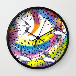 Spin and Spin Wall Clock
