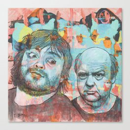 Tenacious D - This Is Just A Tribute, To The Greatest Band In The World Canvas Print