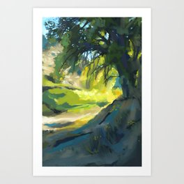 Spared/Escalante #9 Art Print