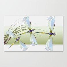 Dragonflies Canvas Print