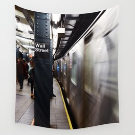 Wallstreet Subway Wall Tapestry